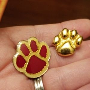Pair of Paw Print Pins